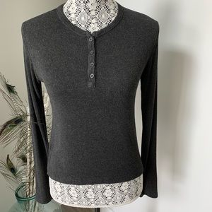 BRANDY MELVILLE Henley Style Sweater